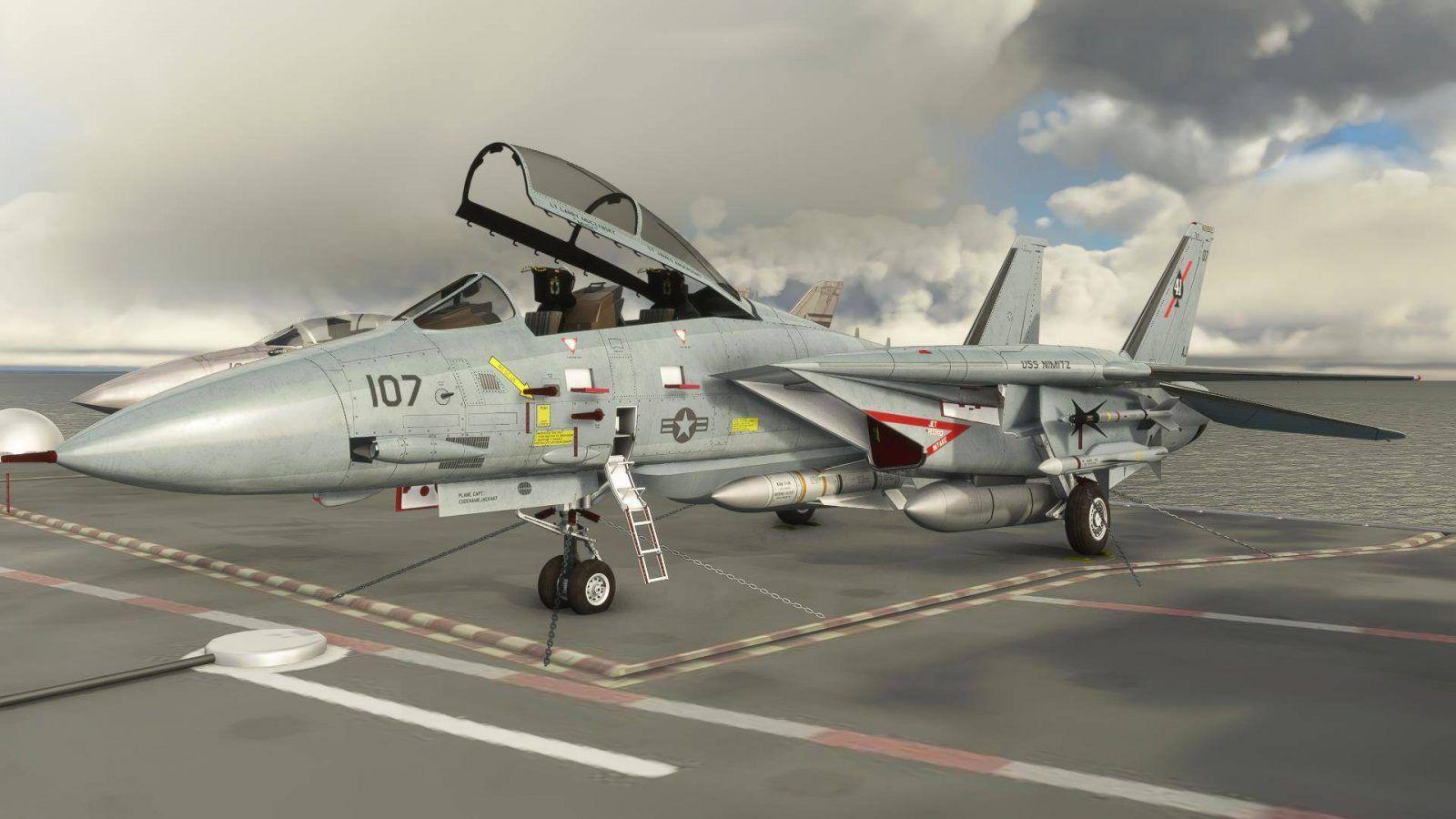 MSFS Grumman F-14 A/B Tomcat