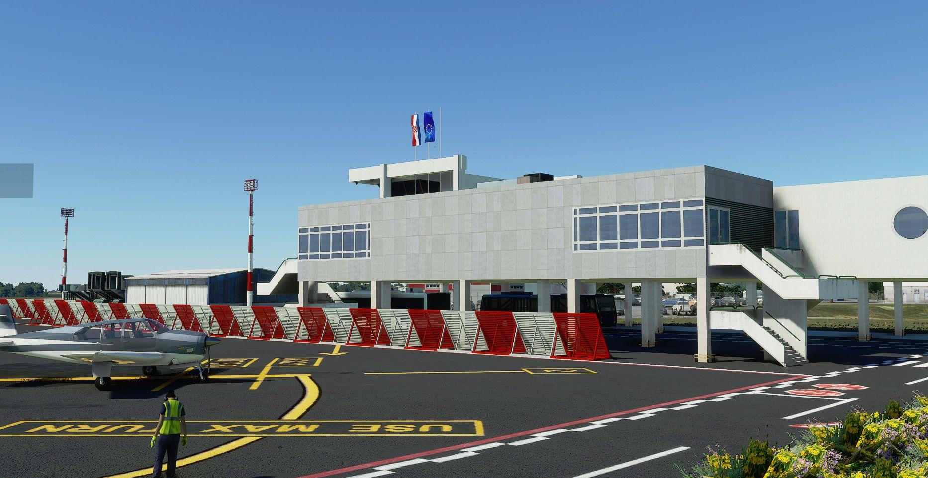 MSFS LDPL Pula Airport
