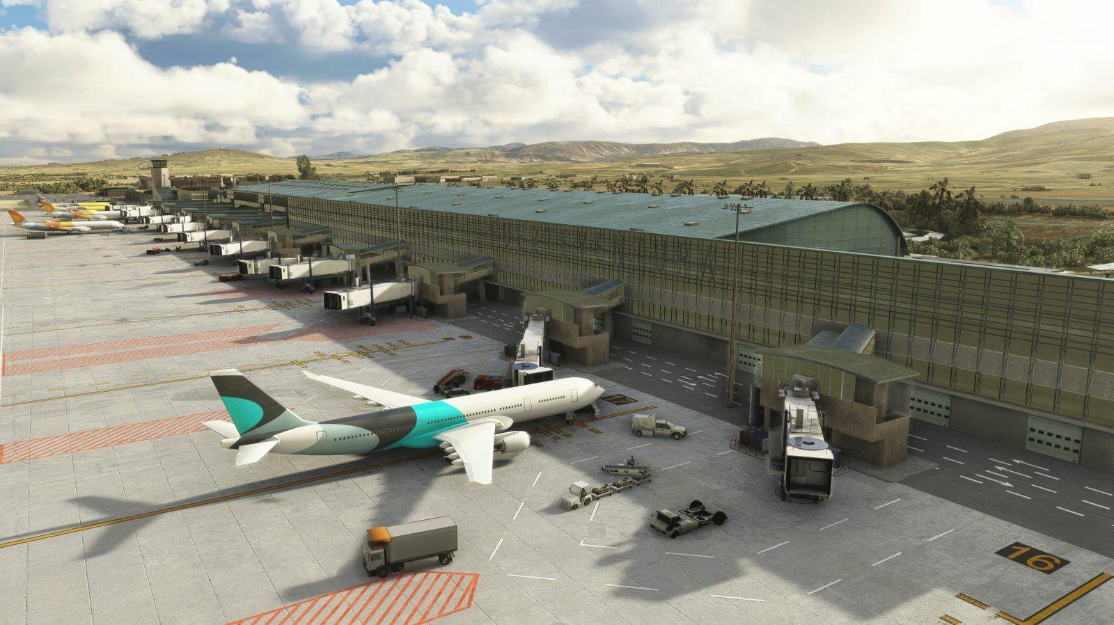 MSFS GCFV Fuerteventura Airport