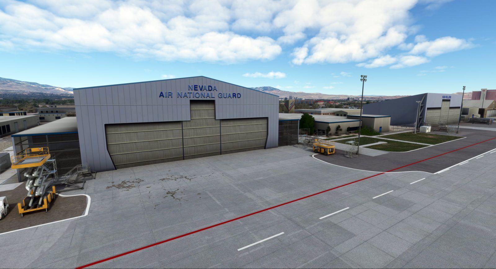 MSFS KRNO Reno-Tahoe International Airport