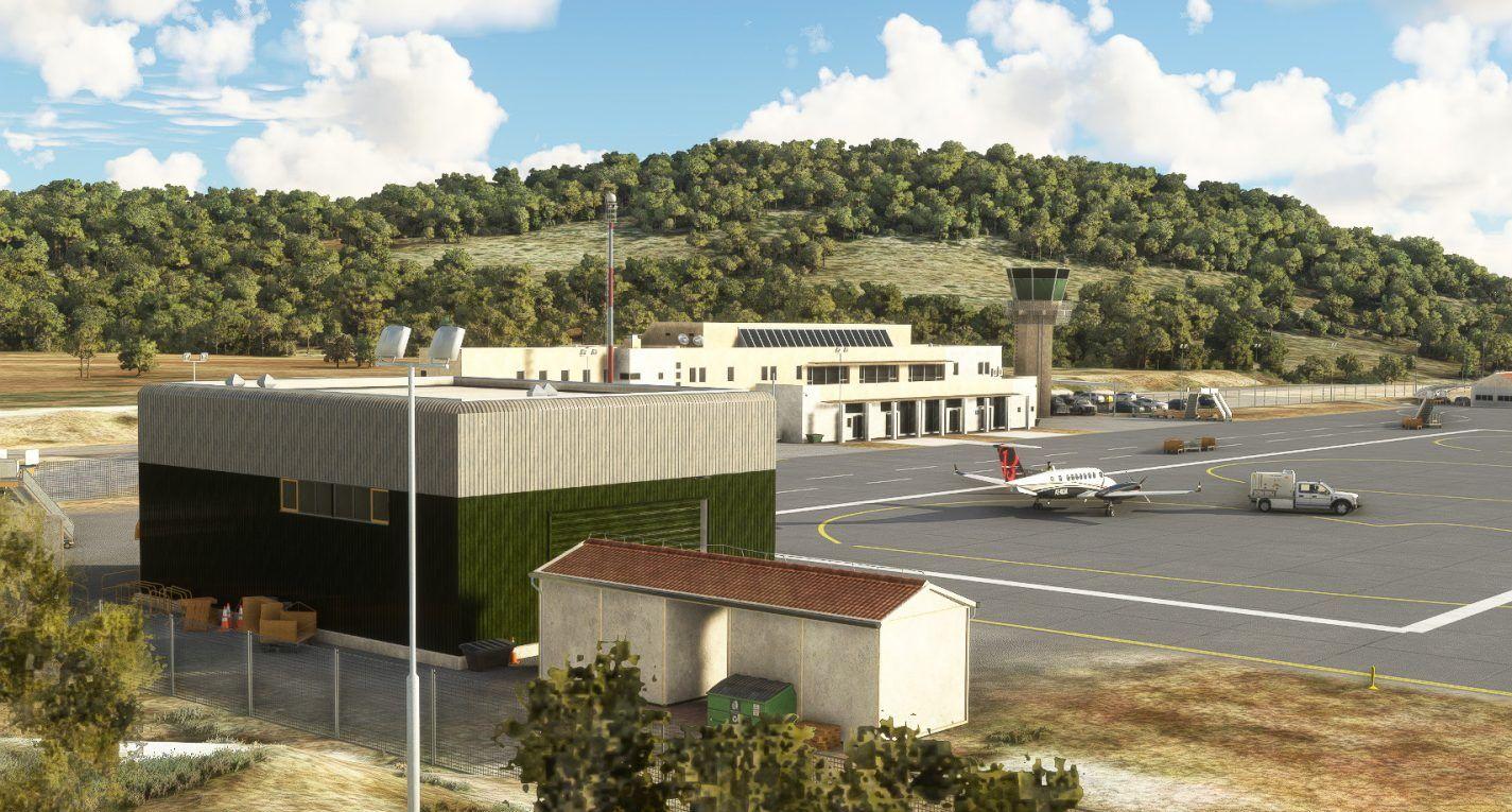 MSFS LDSB Brač Airport