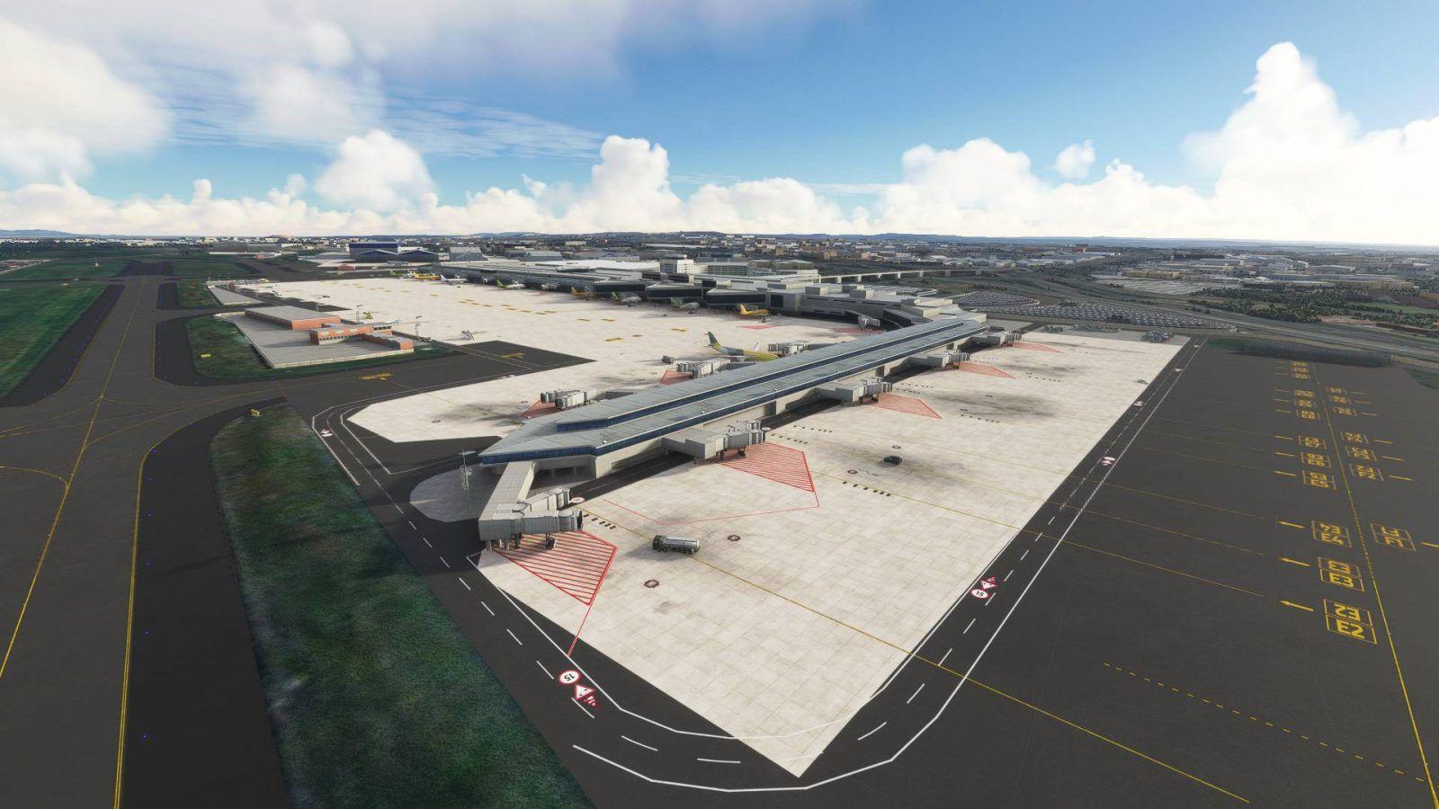 MSFS FAOR O. R. Tambo International Airport