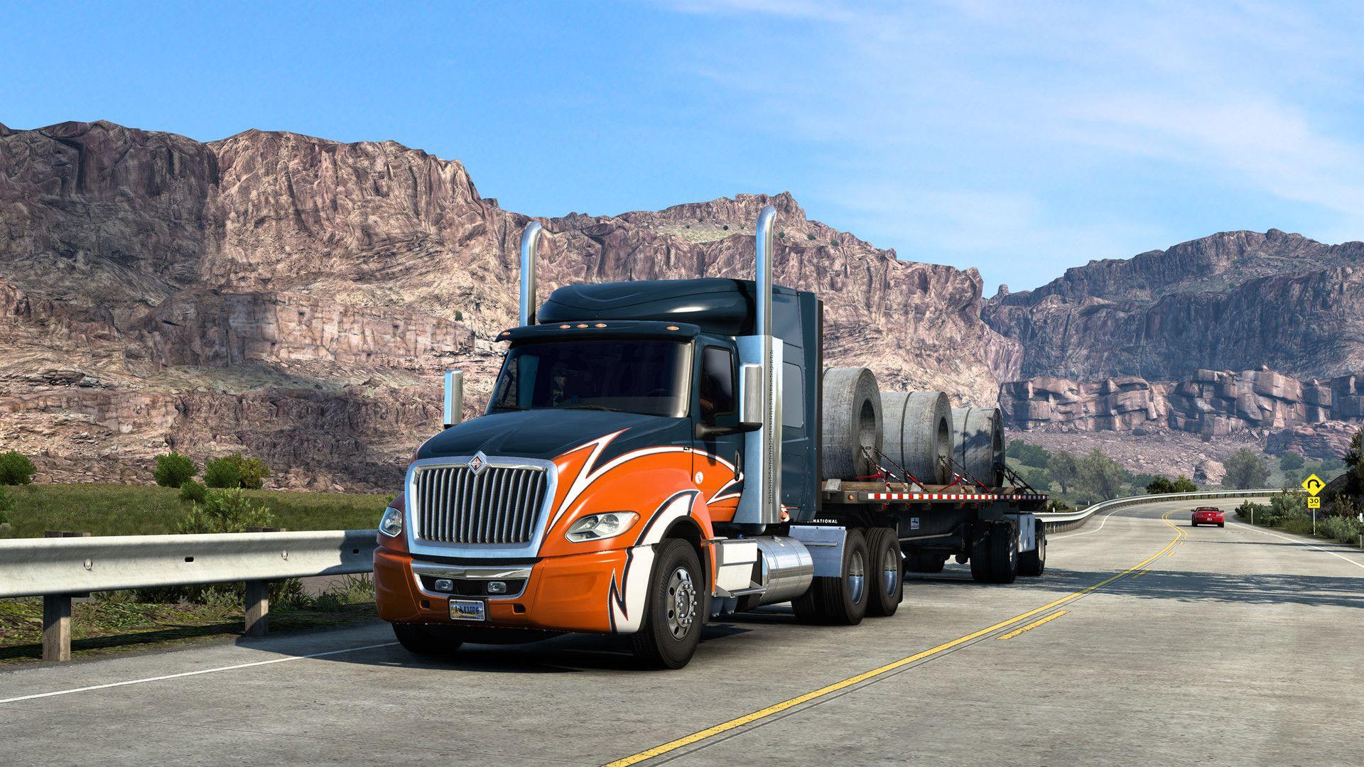 American Truck Simulator - International LT