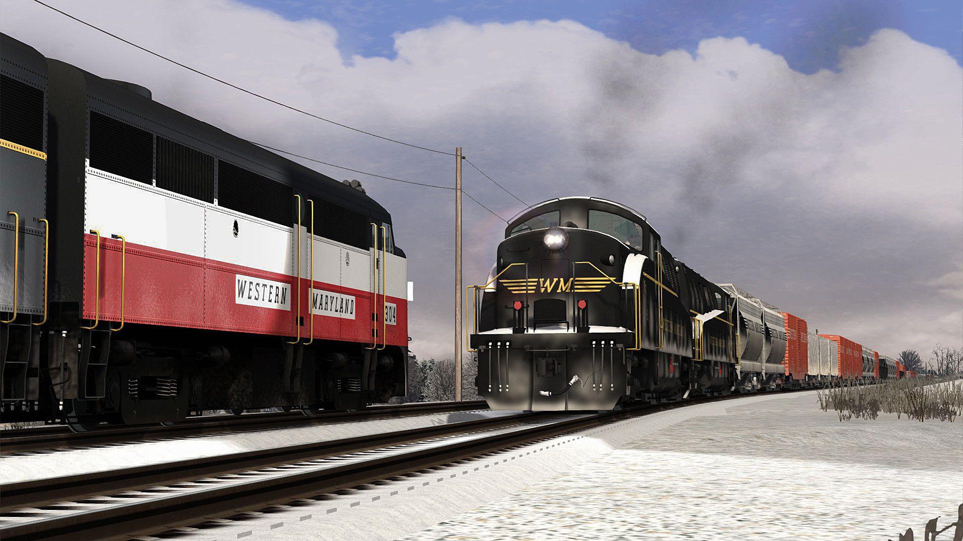 Train Simulator Western Maryland BL2