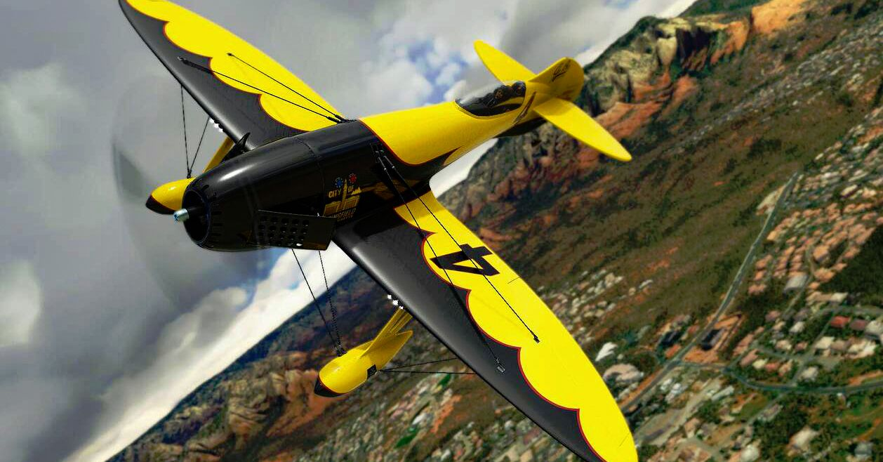 MSFS Gee Bee R3 Special