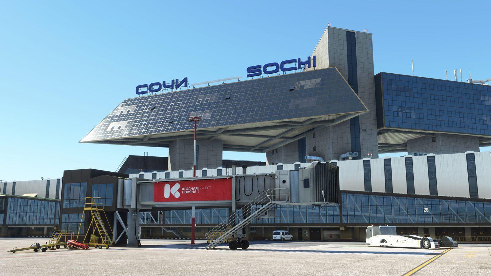 MSFS URSS Sochi International Airport