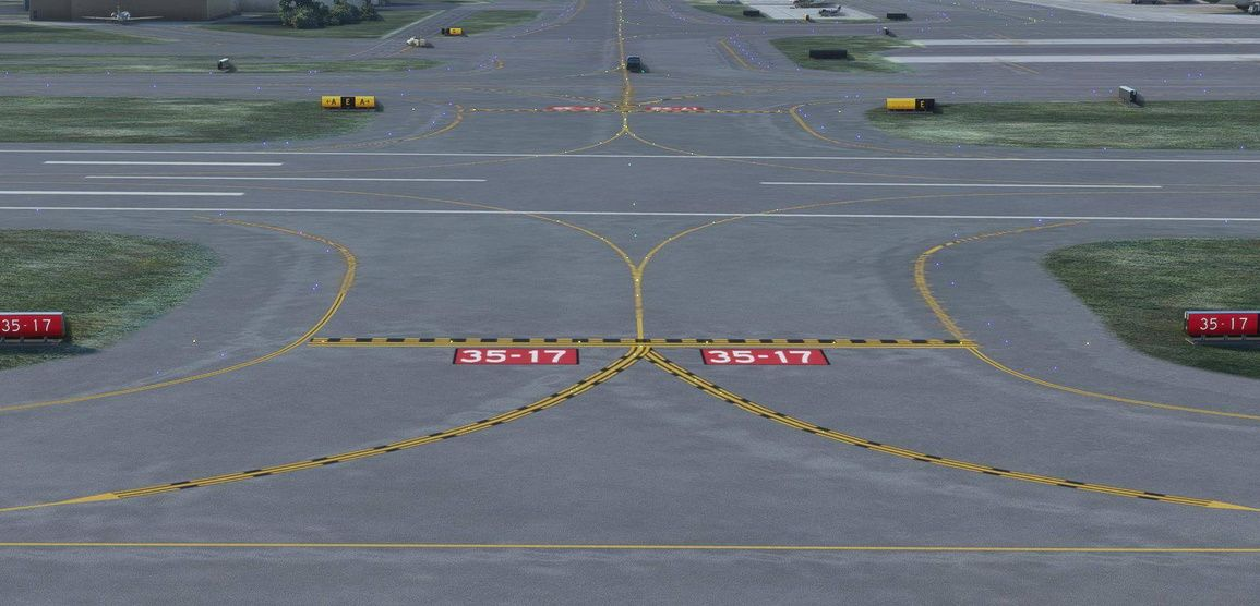 MSFS Real Taxiways USA - Military Airfields