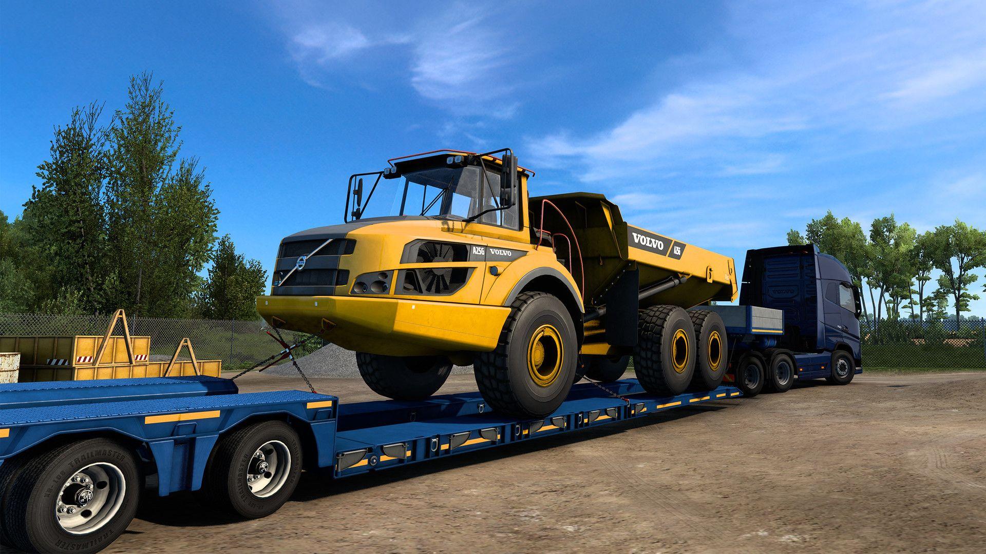 Euro Truck Simulator 2 - Volvo Construction Equipment