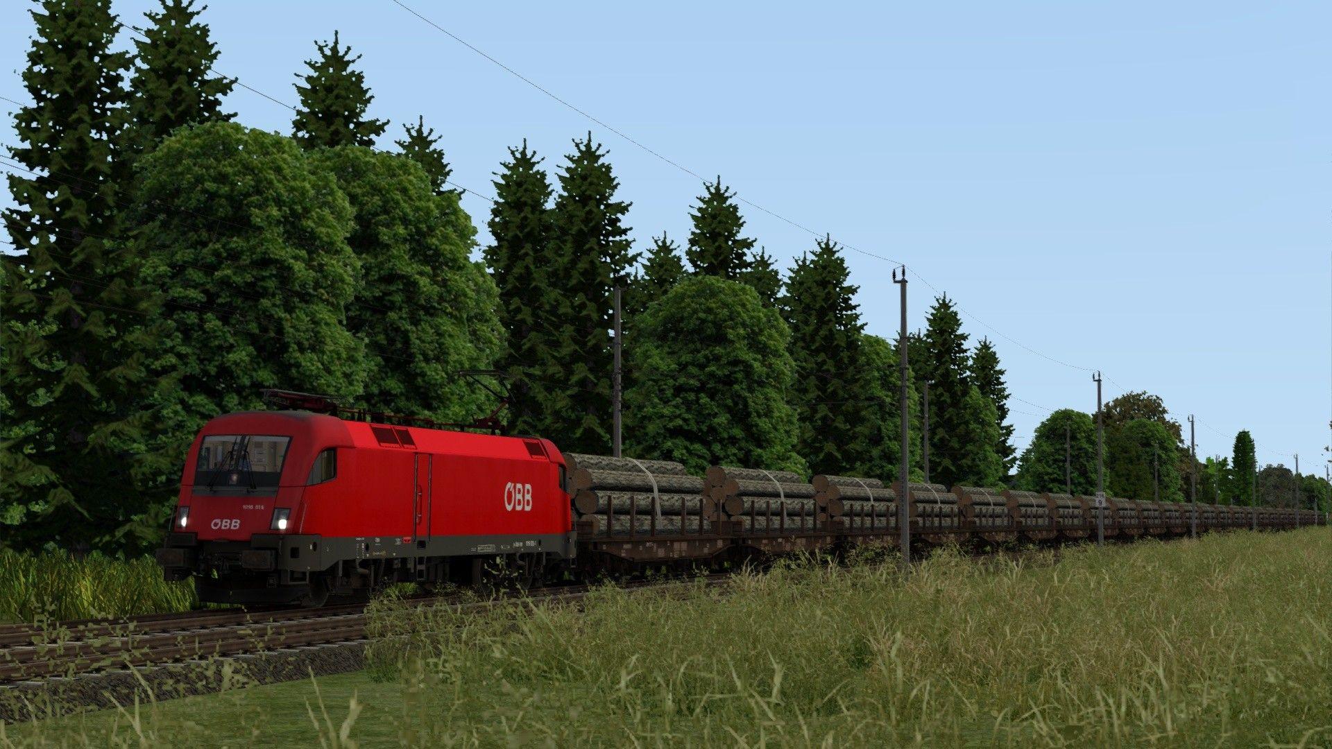 Train Simulator Salzburg to Wels