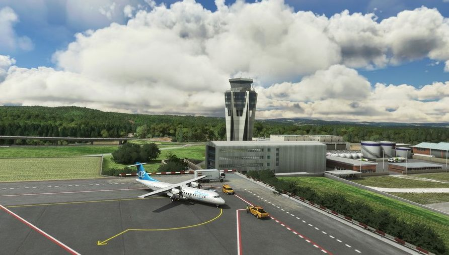 MSFS LEST Santiago-Rosalia de Castro Airport