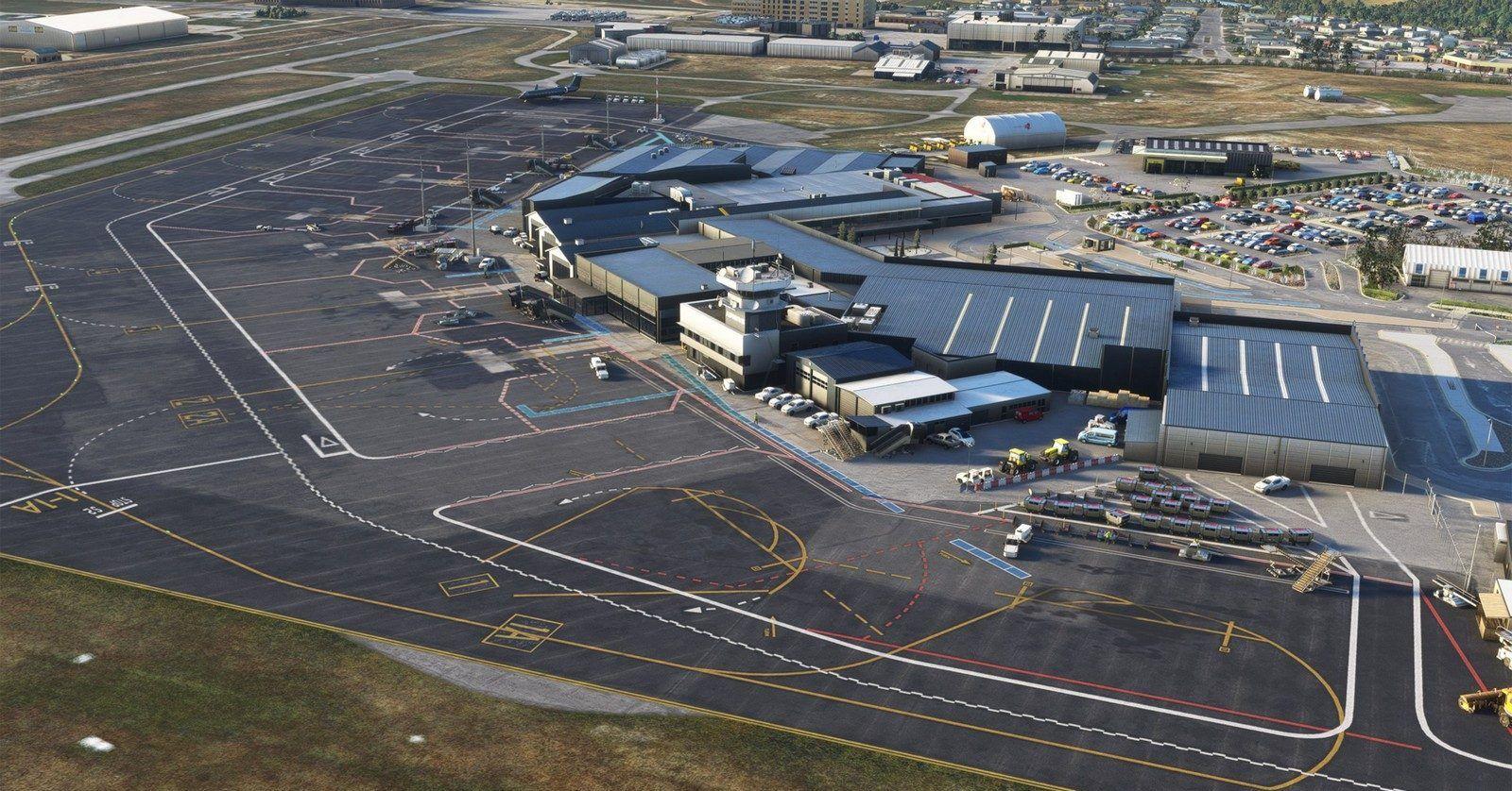 MSFS NZQN Queenstown Airport
