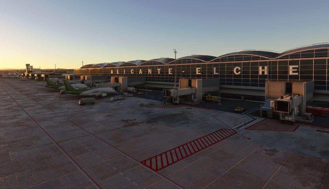MSFS LEAL Alicante Airport