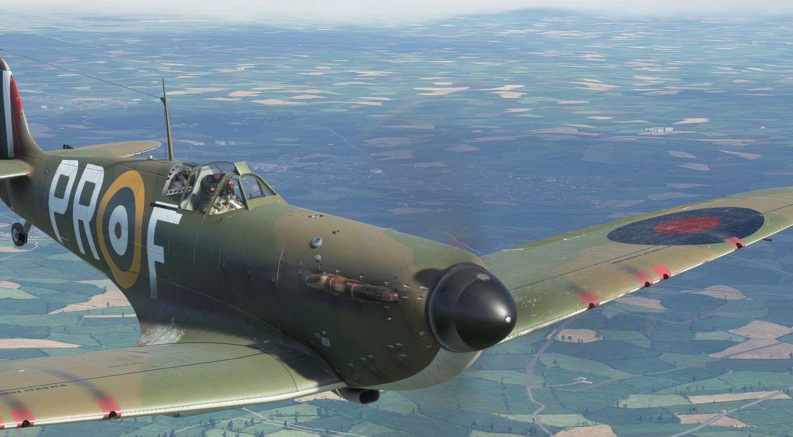 MSFS Supermarine Spitfire Mk1a