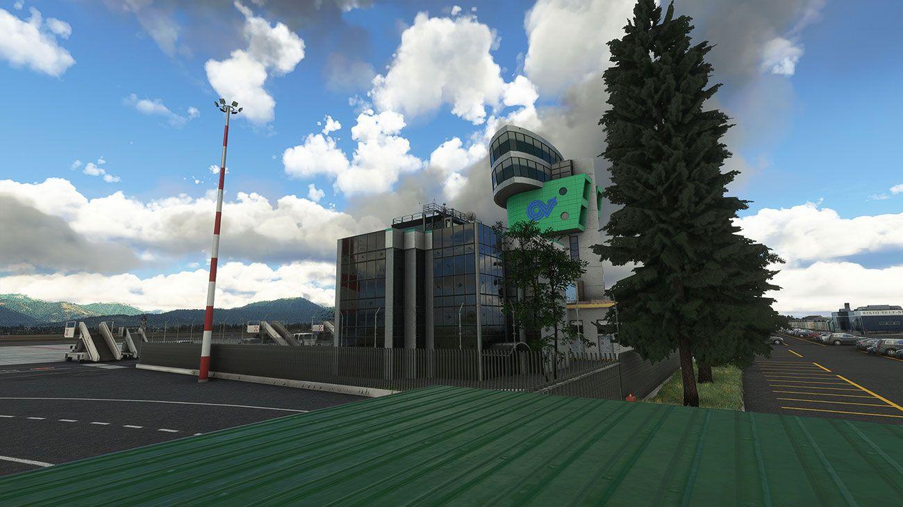 MSFS LIME Bergamo Airport