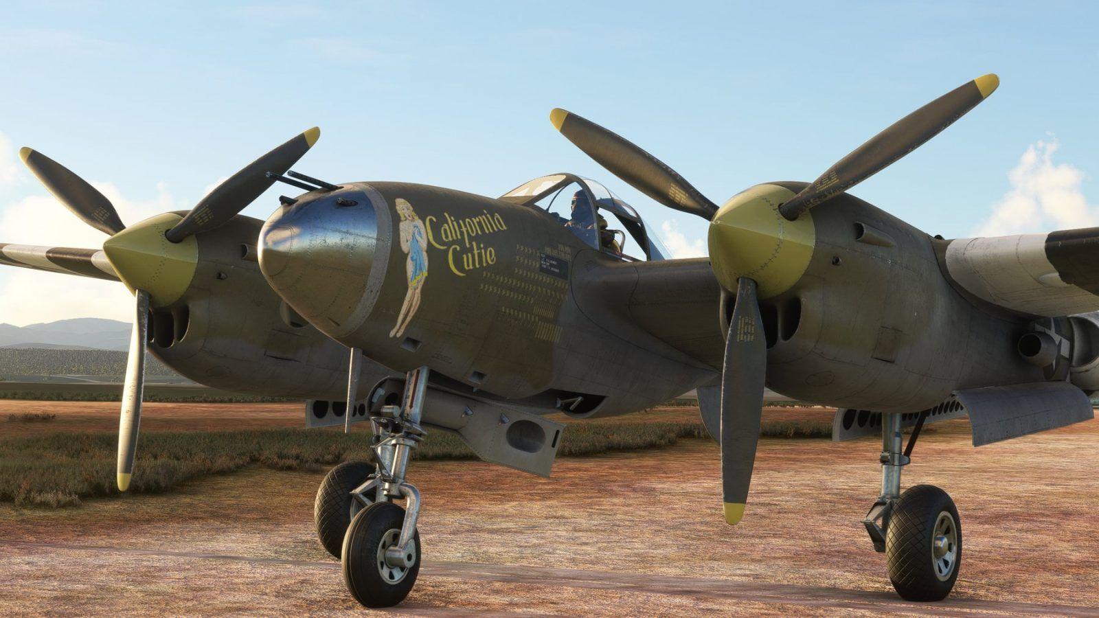 MSFS Lockheed P-38 Lightning