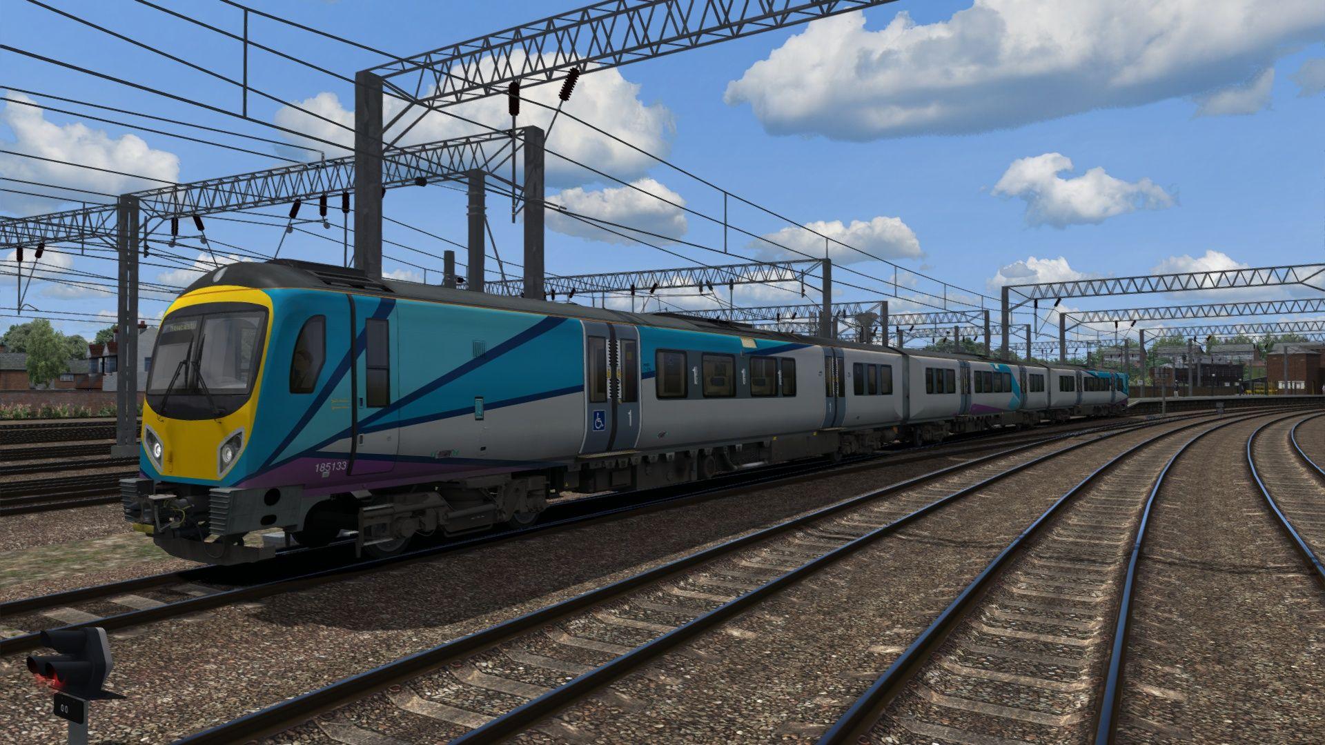 Train Simulator Class 185