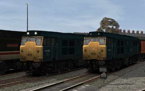 Image showing Class 31 'BR Blue refurbished'.