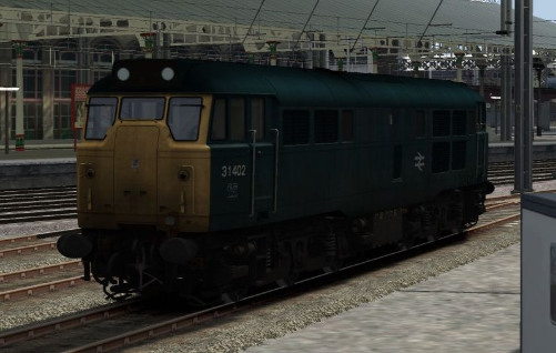 Image showing Class 31 'BR Blue unrefurbished'.