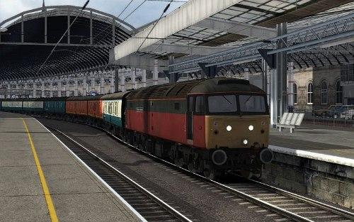 Image showing Class 47 '47522' Parcels.