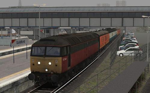 Image showing Class 47 '47543' Parcels.