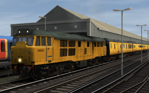 Image showing Class 31 'DCR Owned 31602'.
