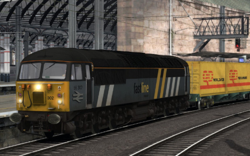 Image showing Class 56 'Fastline'.