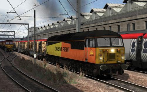 Image showing Class 56 'Colas Rail'.