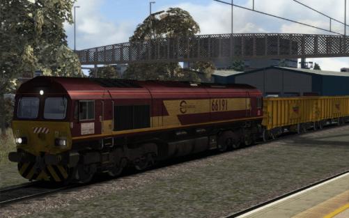 Image showing Class 66 'Euro Cargo Rail (EWS)'.