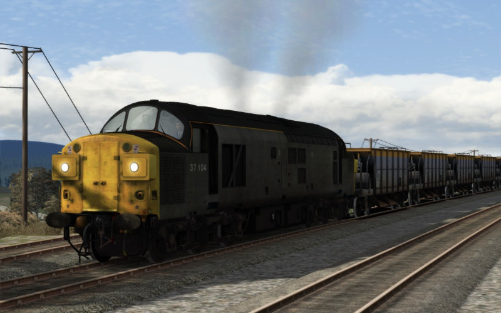 Image showing Class 37 'Departmental'.