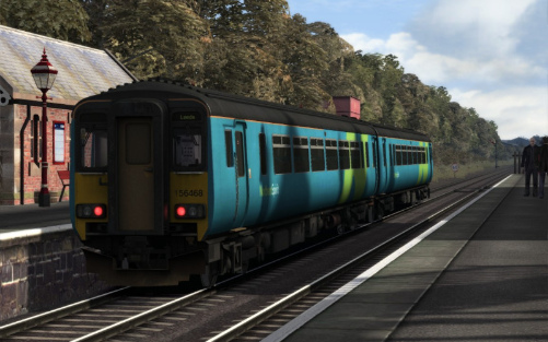 Image showing screenshot of the free Northern Spirit repaint of the Class 156