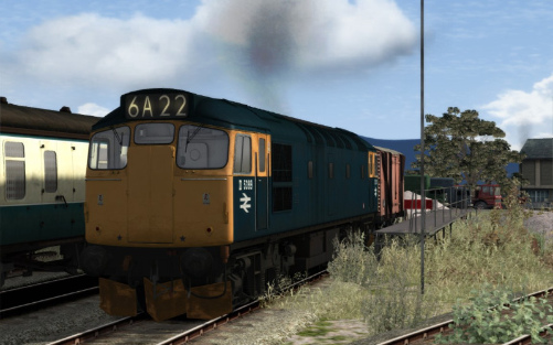 Image showing free repaint of the Class 27 locomotive