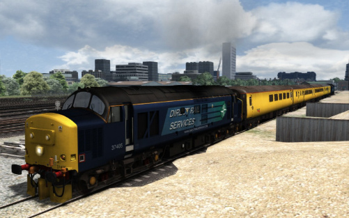 Image showing Class 37 'DRS 37405'.