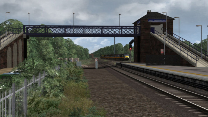 Image showing screenshot of the free East Coast Main Line - North East route from DPSimulation