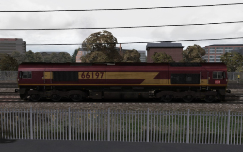 Image showing Class 66 'DBS EWS' Debranded.