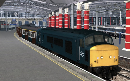 Image showing the Class 45 'BR Blue' Livery Patch.
