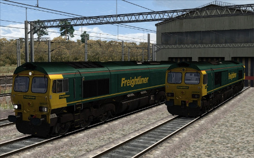 Image showing Class 66 'Freightliner'.