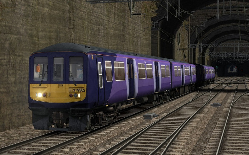 Image showing screenshot of the free Northern Rail repaint of the First Capital Connect Class 319 EMU