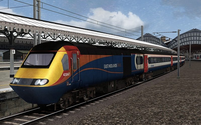 Image showing Class 43 HST 'East Midlands Trains'.