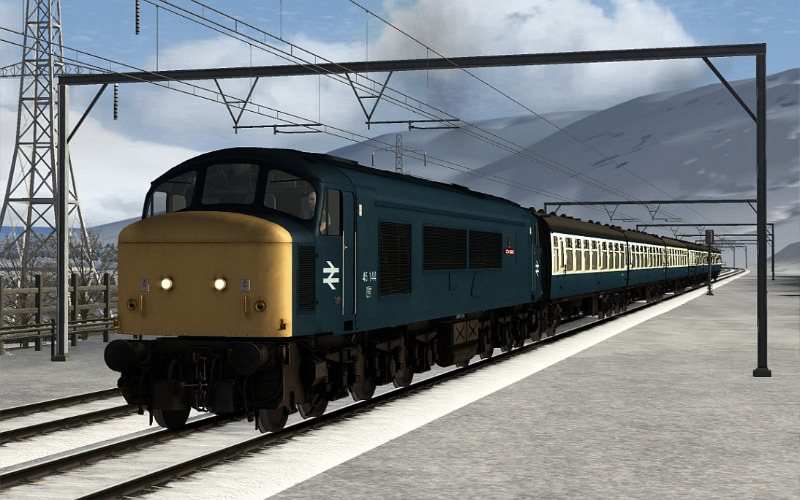 Image showing Class 45 45144 BR Blue 'Royal Signals'.