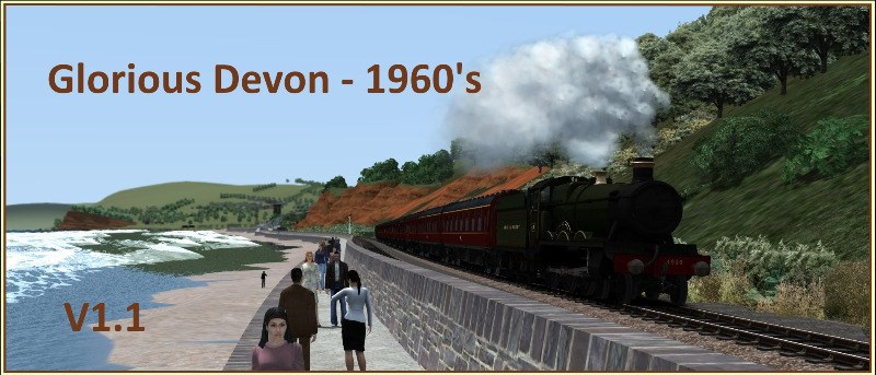glorious devon - 1960s poster v1.1