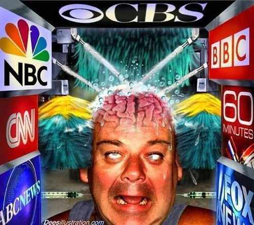 The Brainwashing Media