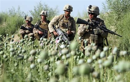 soldiers opium