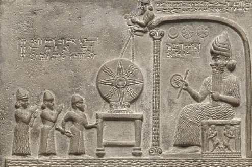 babylonian sun cross