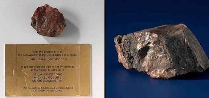 fake moon rock