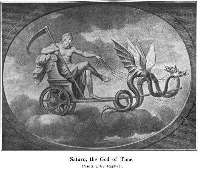 halloween saturn god of time