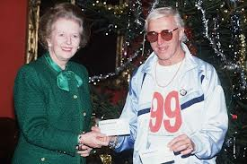 JIMMY SAVILLE MARGARET THATCHER