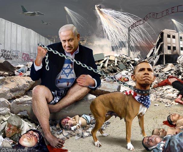099 obama slave to israel