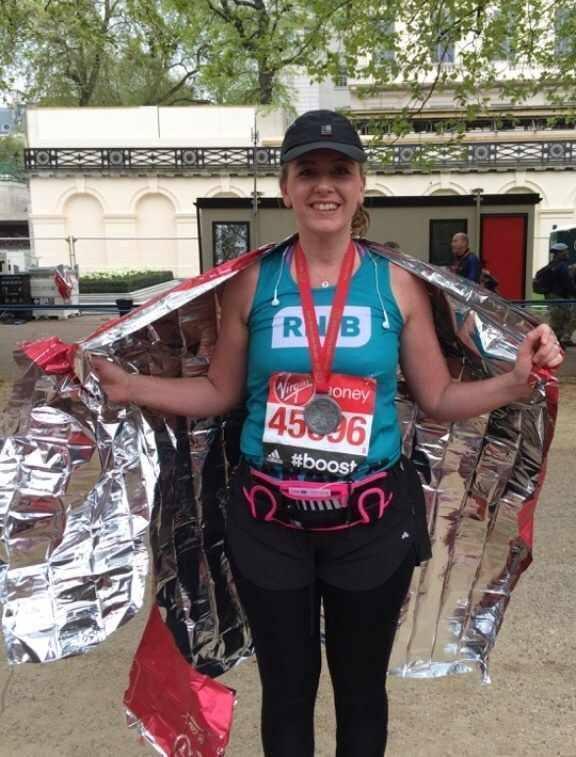 Sarahs London Marathon