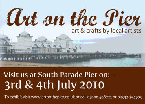 Art on the Pier July