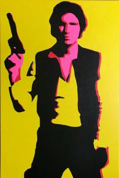 Original Pop Art Fashion Canvas Paintings